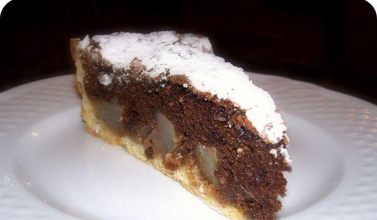 Profumo di Lievito: crostata pere e cioccolato