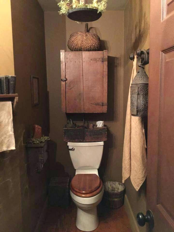 Primitive Paint Colors For Bathrooms Primitive Bathroom Decor Primitive Bathrooms Primitive Bathroom