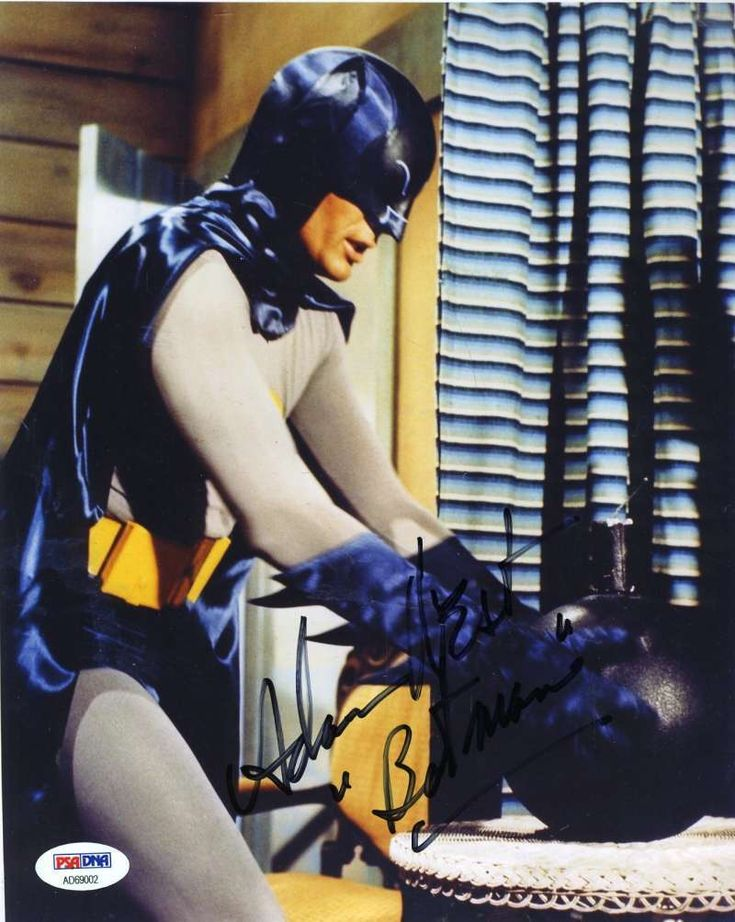 ADAM WEST BATMAN Signed PSA DNA CERTIFIED 8X10 Photo Autograph Authentic | eBay