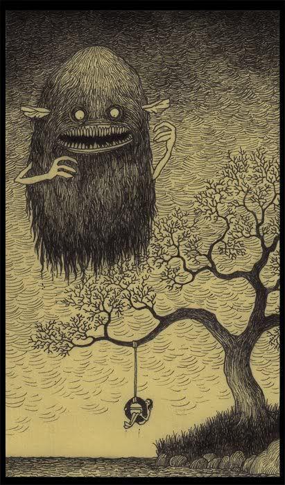 magpie & whiskeyjack: Monster Drawings