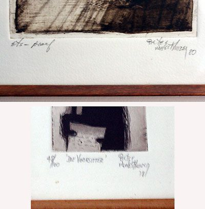 An Introduction to Fine Art Printmaking: How to Sign an Art Print