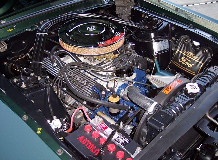 restoration page Engine Compartment detail