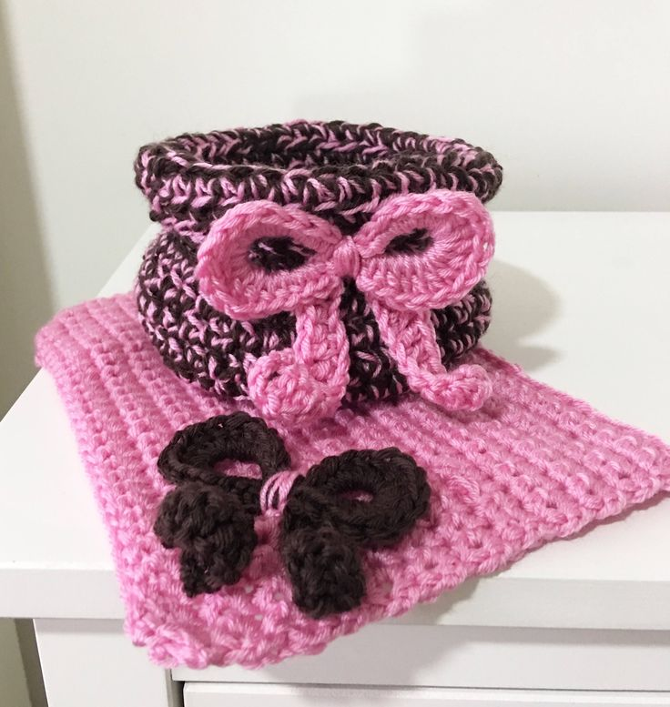 A personal favorite from my Etsy shop https://www.etsy.com/listing/567162005/set-of-crochet-basket-and-washcloth