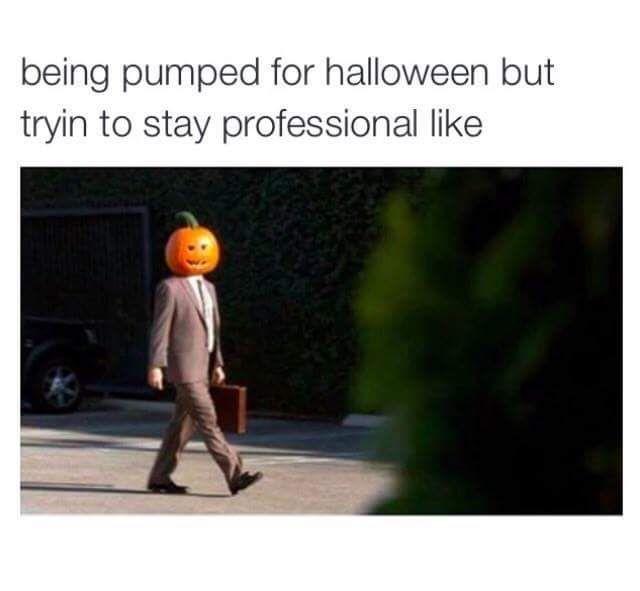 Autumn Halloween memes