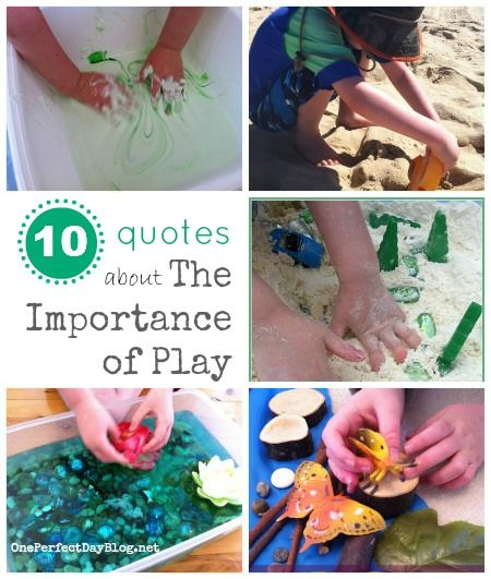 Play Matters! I love these ten quotes about the importance of play.