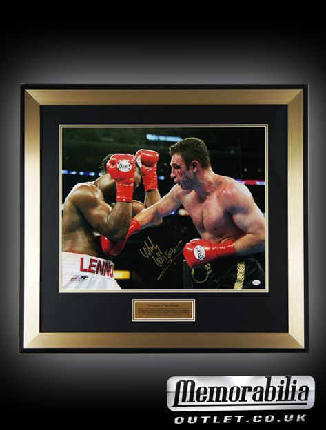 With an 87.23% knockout percentage rate this signed Vitali Klitschko picture is too good of an offer to refuse!