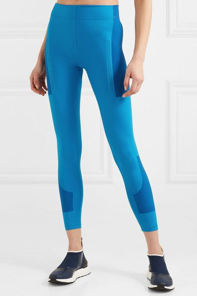 85d229770226ad adidas by Stella McCartney | + Parley for the Oceans FitSense+ Climalite  leggings | NET-A-PORTER.COM