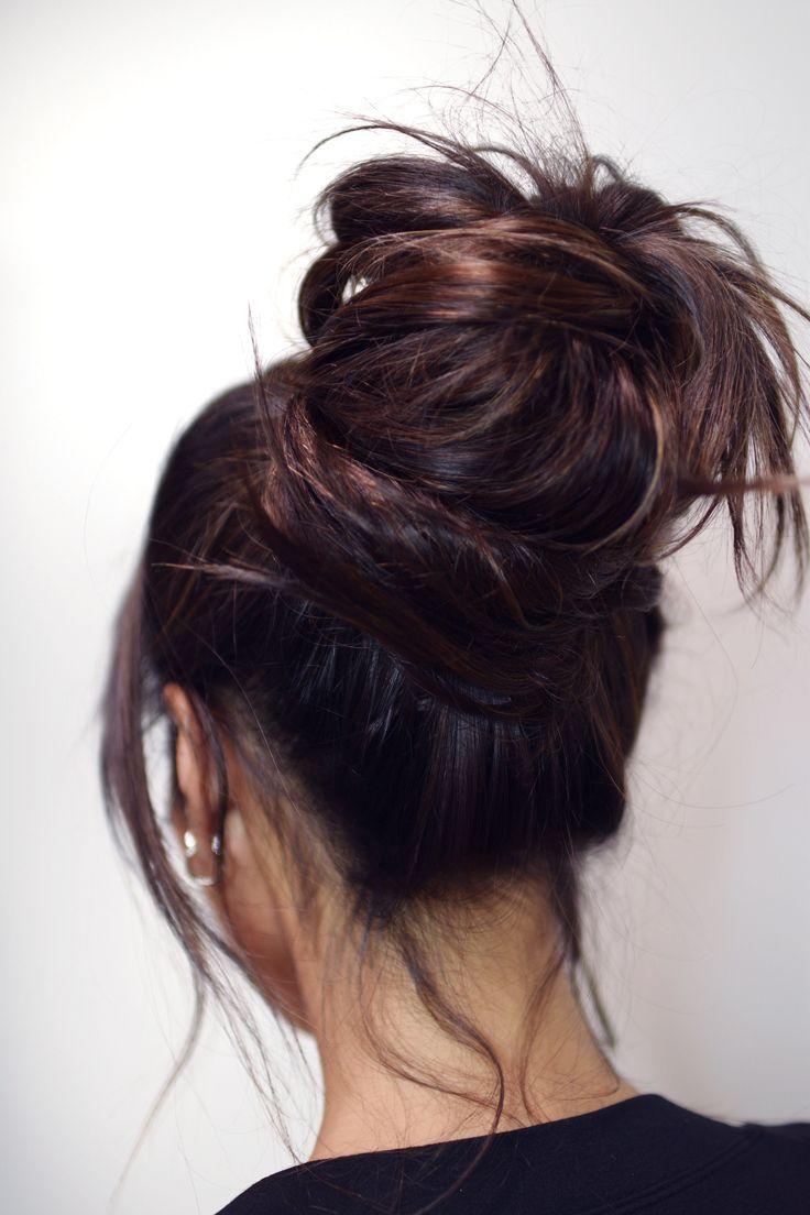 Bun Hairstyles Bun Hairstyles For Long Hair Bun Hairstyles Easy Updos For Medium Length Hair U Long Hair Styles Bun Hairstyles For Long Hair Bun Hairstyles