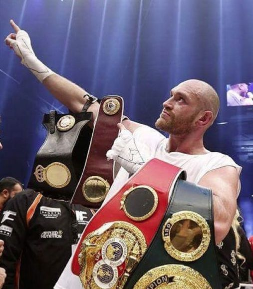 Professional boxer Tyson Fury has been stripped of his IBF title less than two weeks after winning it. The 27-year-old world heavyweight