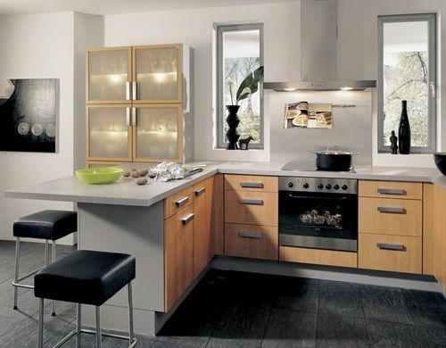 c496c977e51bdd631cace1e0017ad64a two tone kitchen cabinets kitchen peninsula