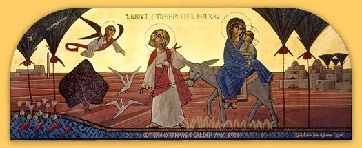 Visit of the Holy Family to Egypt
