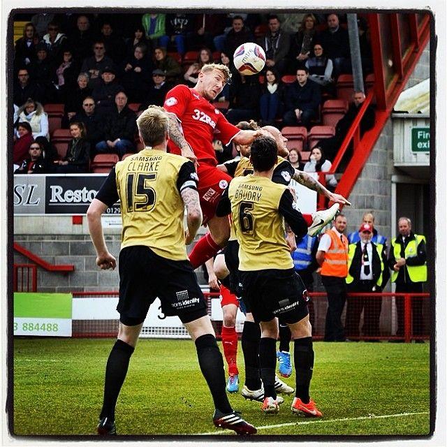 Heads above #football #soccer #skybet #league1 #crawley #town #ctfc #mcfadzean #header