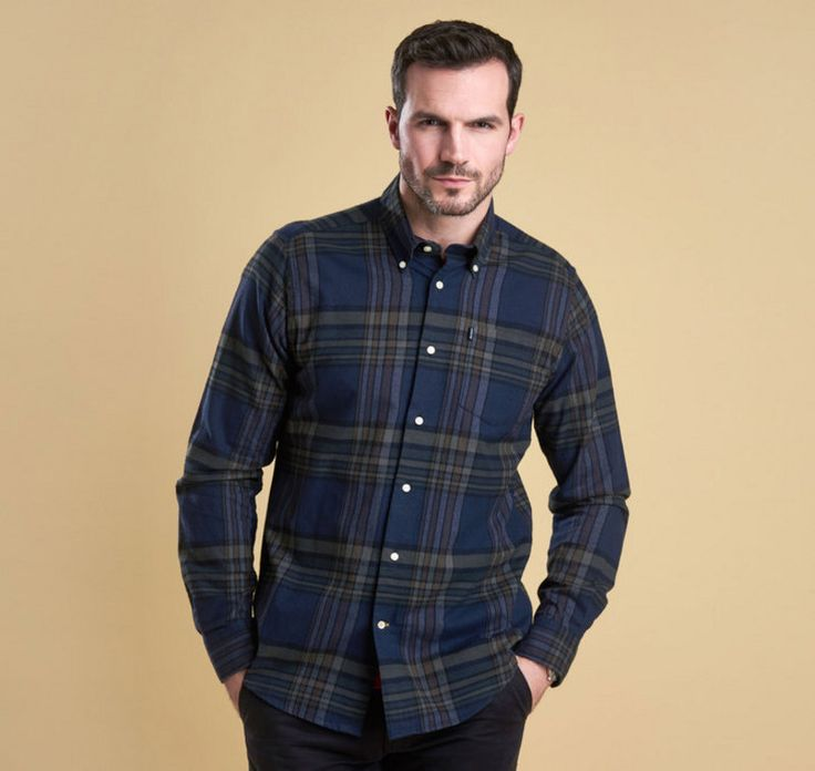 Barbour Mens Blane Highland Check Tailored Shirt