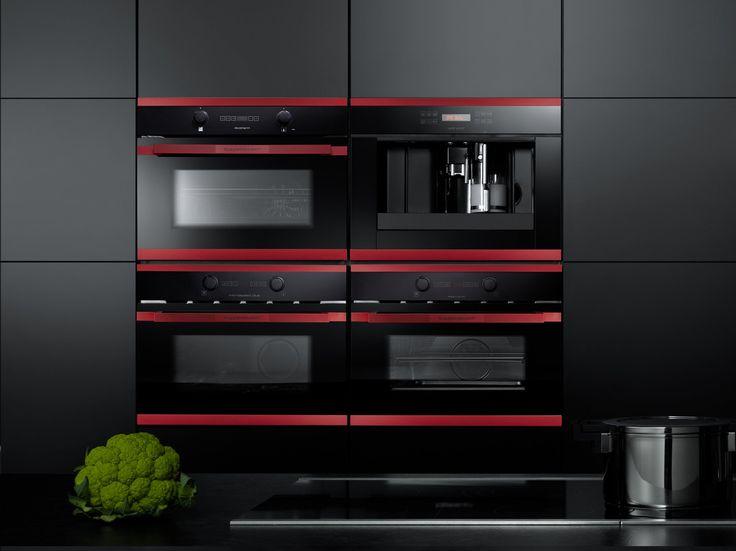 AGD, urządzenia kuchenne, piekarnik, ekspres do kawy, energooszczędne urządzenia. Zobacz więcej na: https://www.homify.pl/katalogi-inspiracji/13580/jak-zaprojektowac-funckjonalna-kuchnie