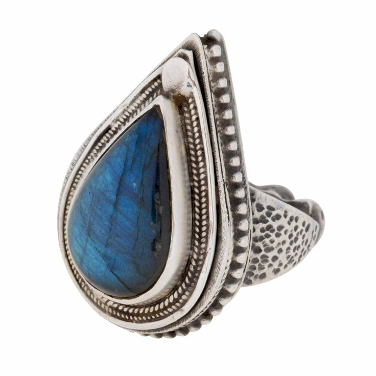 Ring-Labradorite and Sterling Silver
