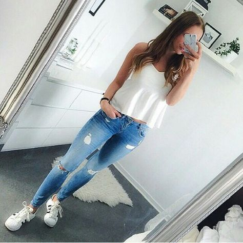 jeans, still one of the best looks on younger women.  My favorite is still cut off jean shorts.