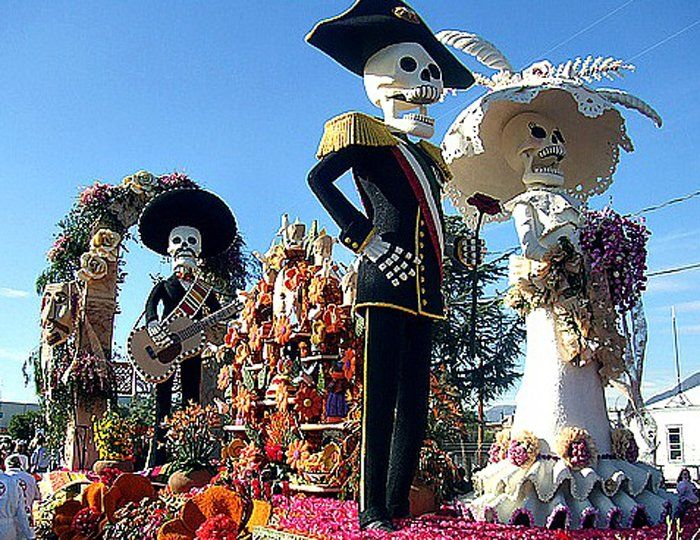 """""""Day of the Dead"""" is one of the most famous holidays"""
