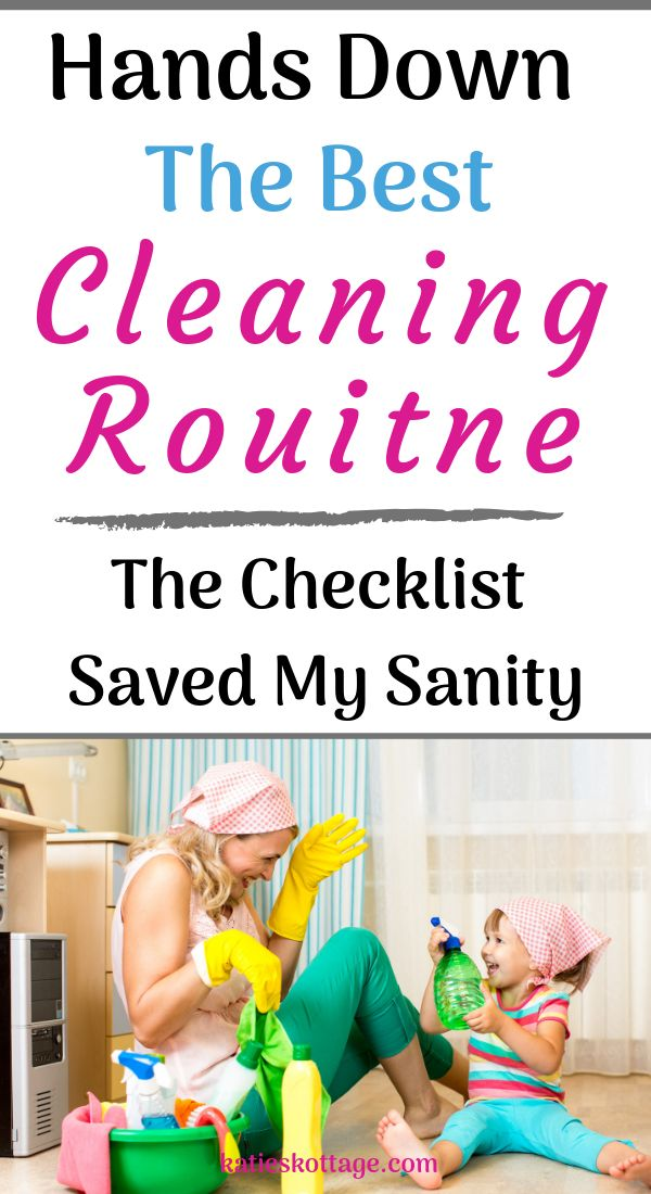 c496e578f7dab471b7b17a00b3c50b91 A daily and weekly cleaning schedule that really works. This cleaning checklist ...