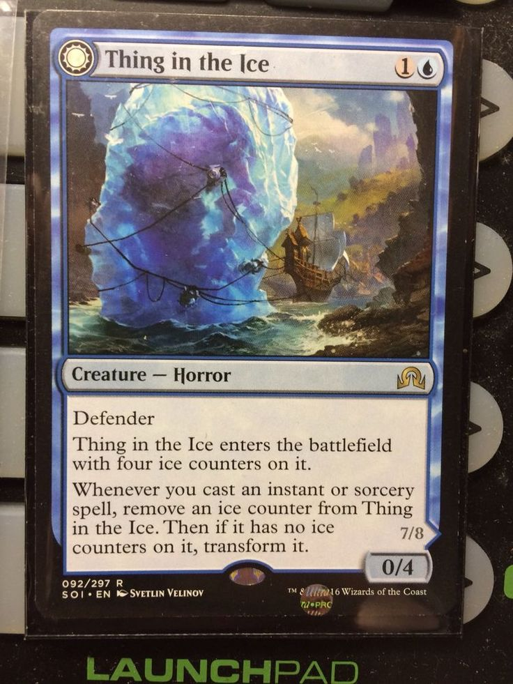 1x Thing in The Ice Awoken Horror Shadows Over Innistrad NM Mint English MTG | eBay