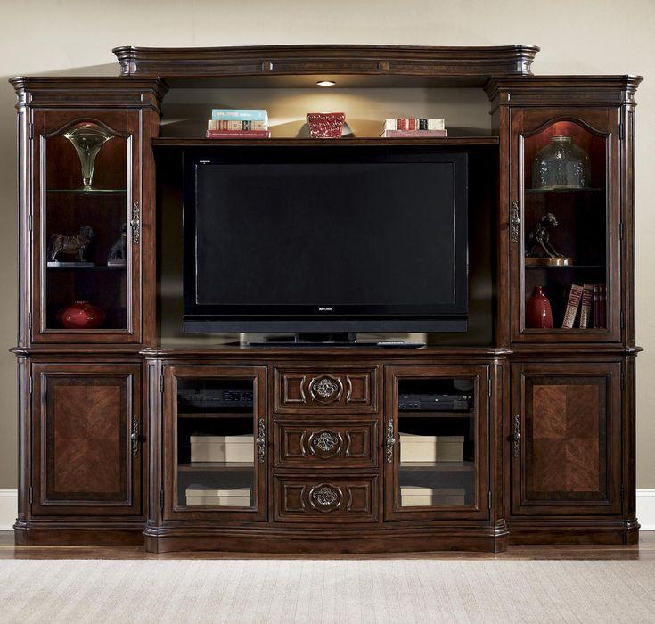 Best 25 entertainment center wall unit ideas on pinterest living room entertainment units for Classic wall units living room