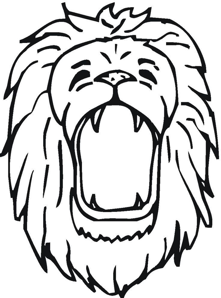 Jaguar Roar Drawing Lion Lion coloring pages, Roaring