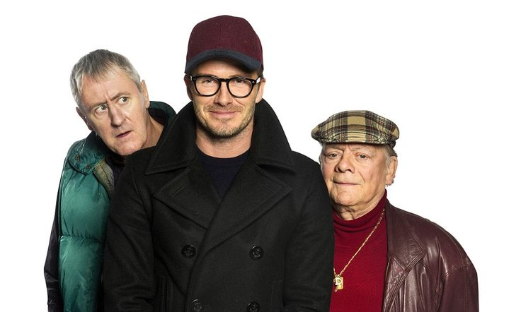 David Beckham reveals nerves ahead of Only Fools And Horses debut #DailyMail