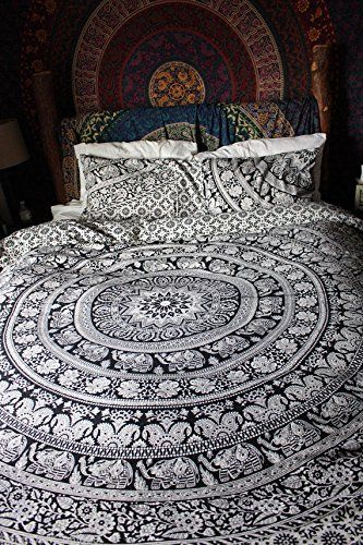 Indian Reversible Duvet Cover Quilt Cover
