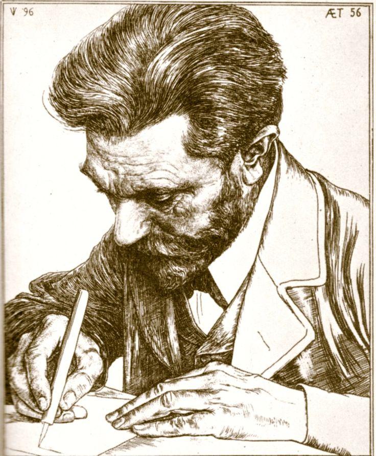 August Bebel (Jan Veth - )