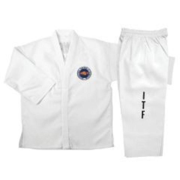 ITF White TaeKwonDo Uniform d#U11ITF-A
