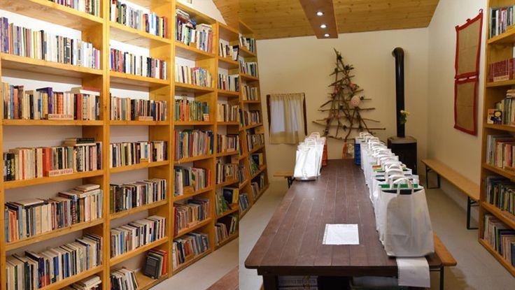Μια εναλλακτική βιβλιοθήκη στον Καπνικό Σταθμό Κατερίνης