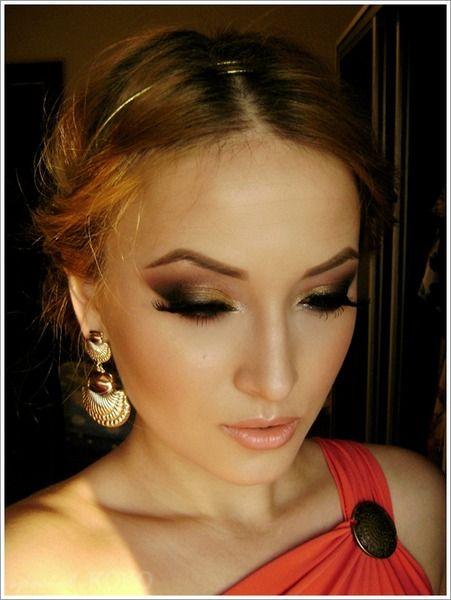 Greek Goddess makeup and hair. http://www.makeupbee.com/look.php?look_id=58627