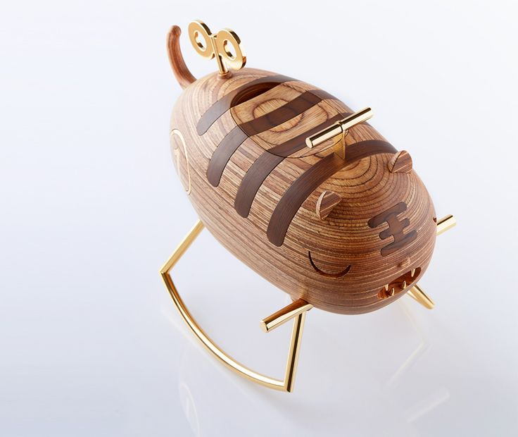 The Endangered Jewelry Box by Trigger Design
