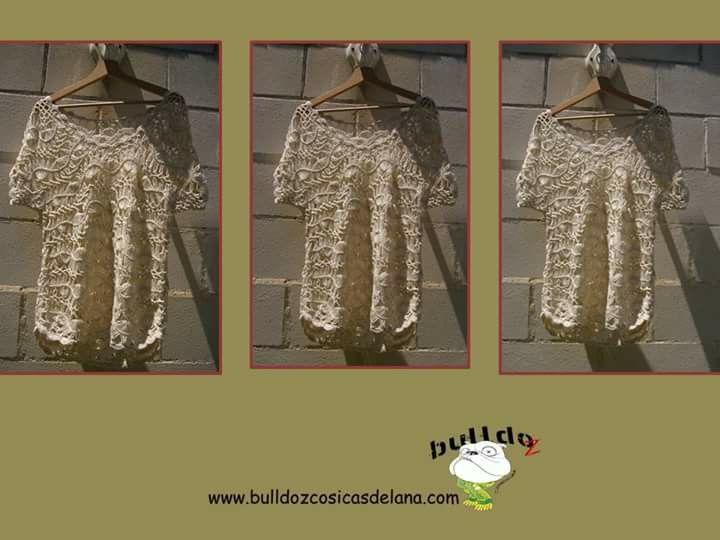 Jersey de verano. #crochet #bulldozcosicasdelana
