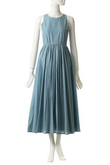 a89a927ba1bd1 マリハ MARIHAの 予約販売 夏のレディのドレス(ノースリーブ)(スモーキーブルー 861392004)