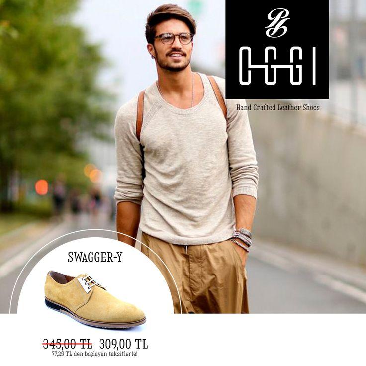 Sokaklarda özgürce gezen stil sahibi erkekler moda yön veriyor. Bu hafta sokak stilinizi tamamlamanız için OGGI SWAGGER-Y iyi bir seçim. http://store.oggi.com.tr/SWAGGER-Y,PR-1599.html