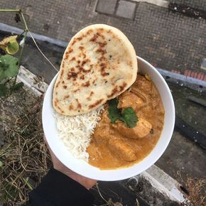 Just made this banging chicken korma in under 15 minutes  Hit like if you want the video recipe #leanin15 #curry #ruby #Korma #foodie