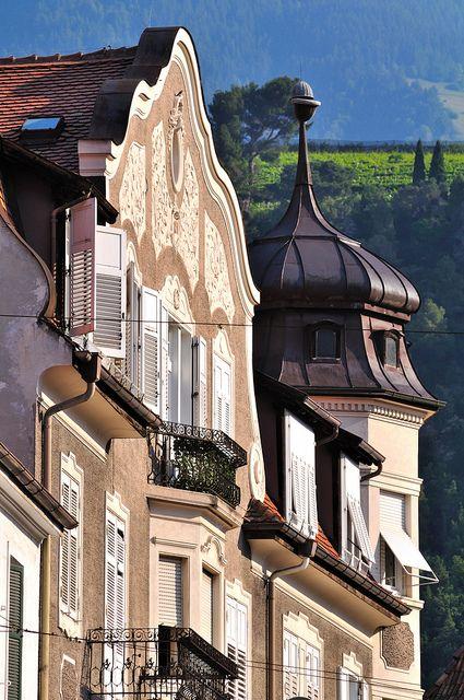 Meran - Rennweg / Merano - Via delle Corse Mijn 2de thuis :)