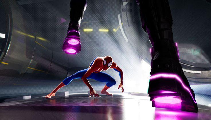 SpiderMan Into the SpiderVerse animatics show evolution
