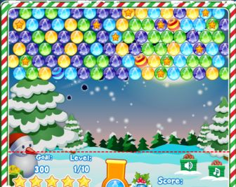 Play Christmas Bubbles Game Online - Christmas Games