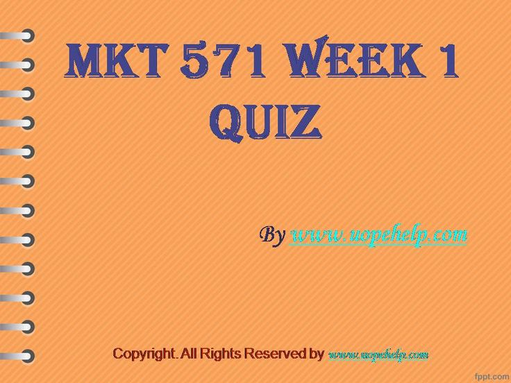 Working with MKT 571 Week 1 Quiz UOP Home Work Help may seem difficult until you are the part of http://www.UopeHelp.com/ . Be and part and know the difference in your grade.