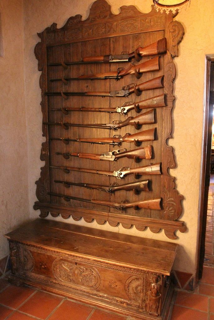 Death Valley: Scotty's Castle - Gun Rack