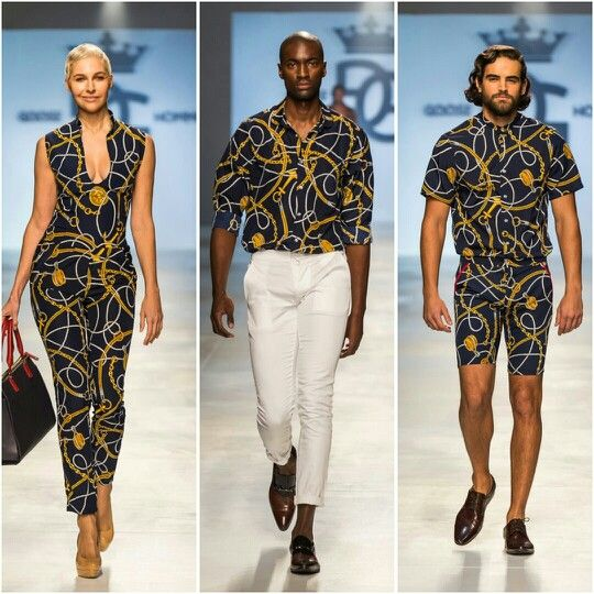 Goose Homme Prorsum SS15 collection fresh off the runway of Mercedes Benz Cape Town Fashion Week SS15