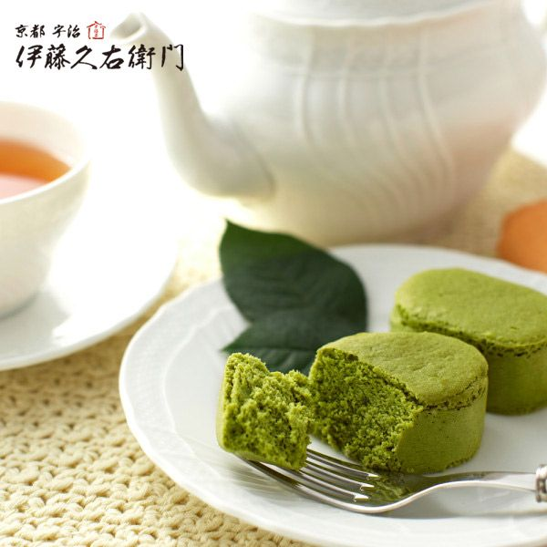 宇治抹茶半熟チーズケーキ http://www.itohkyuemon.co.jp/item/64.html