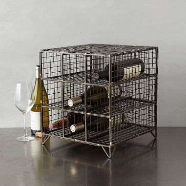 Wire Wine Rack   Large