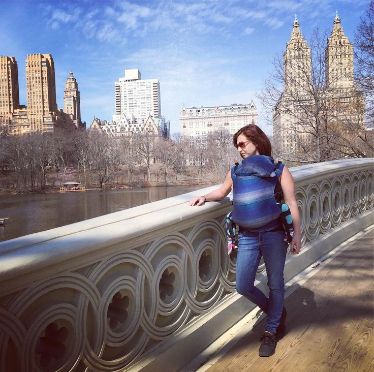 LennyLamb SSC in the NYC! Babywearing in the city! http://mumtravel.com