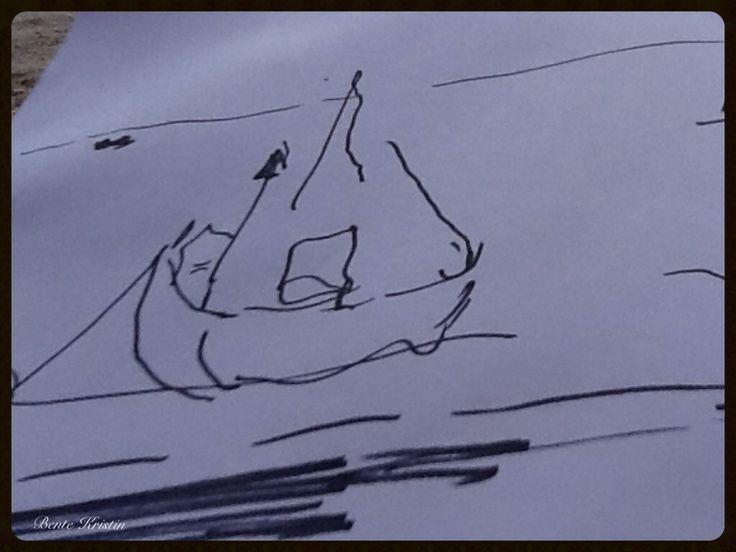 Artist: Bente Kristin B Skulstad. 2014. Drawing