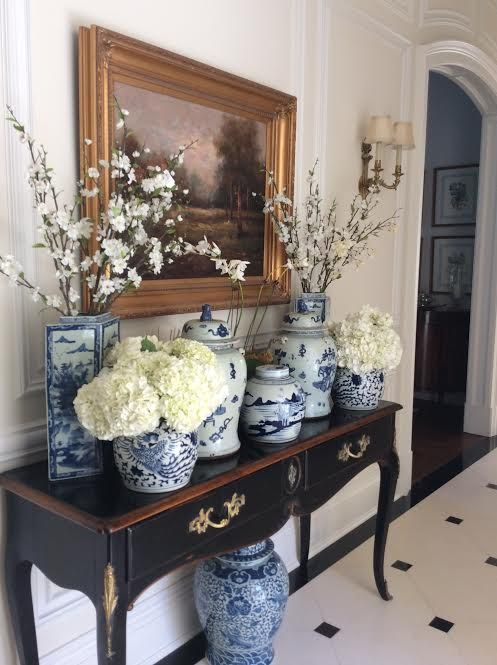 Pinterest Pretties Blue And White The Enchanted Home