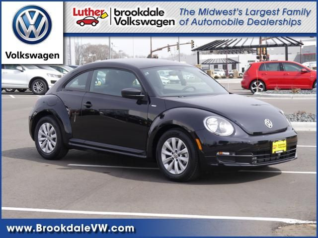 2016 Beetle for sale Minneapolis at Luther Brookdale Volkswagen dealership Minnesota. 2016 Volkswagen Beetle 1.8T Wolfsburg Edition Hatchback in Deep Black Pearl. VW Beetle for sale Minneapolis, MN. Minnesota Volkswagen dealership. Features: Heated Front Seats and mirrors, Turbocharged engine, Keyless Entry, Steering Wheel Controls and more! Beetle for sale Minnesota. Twin Cities VW dealership. New VW for sale. >> Click to learn more.