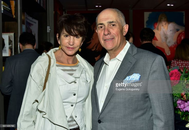 Mercedes Ruehl and Michael Namer attend the HGU New York Sag Harbor Cinema Fundraiser at HGU New York on May 23, 2017 in New York City.