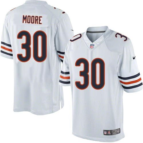 premium selection 8dfee 04011 nike chicago bears d.j. moore game jersey women white 30 nfl ...